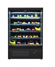 OM SERIES BLACK MULTII-DECK SHOWCASE REFRIGERATOR