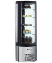 "69"" HEIGHT REFRIGERATED CIRCULAR DISPLAY CASE - AC-400R"