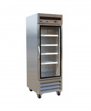 "27"" Stainless Steel Glass Door Merchandiser"