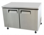 2-DOOR STAINLESS UNDERCOUNTER