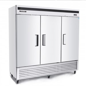 BSD 3-DOOR STAINLESS, SOLID DOOR