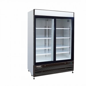 ELITE SERIES 2-DOOR GLASS SLIDING REFRIGERATOR