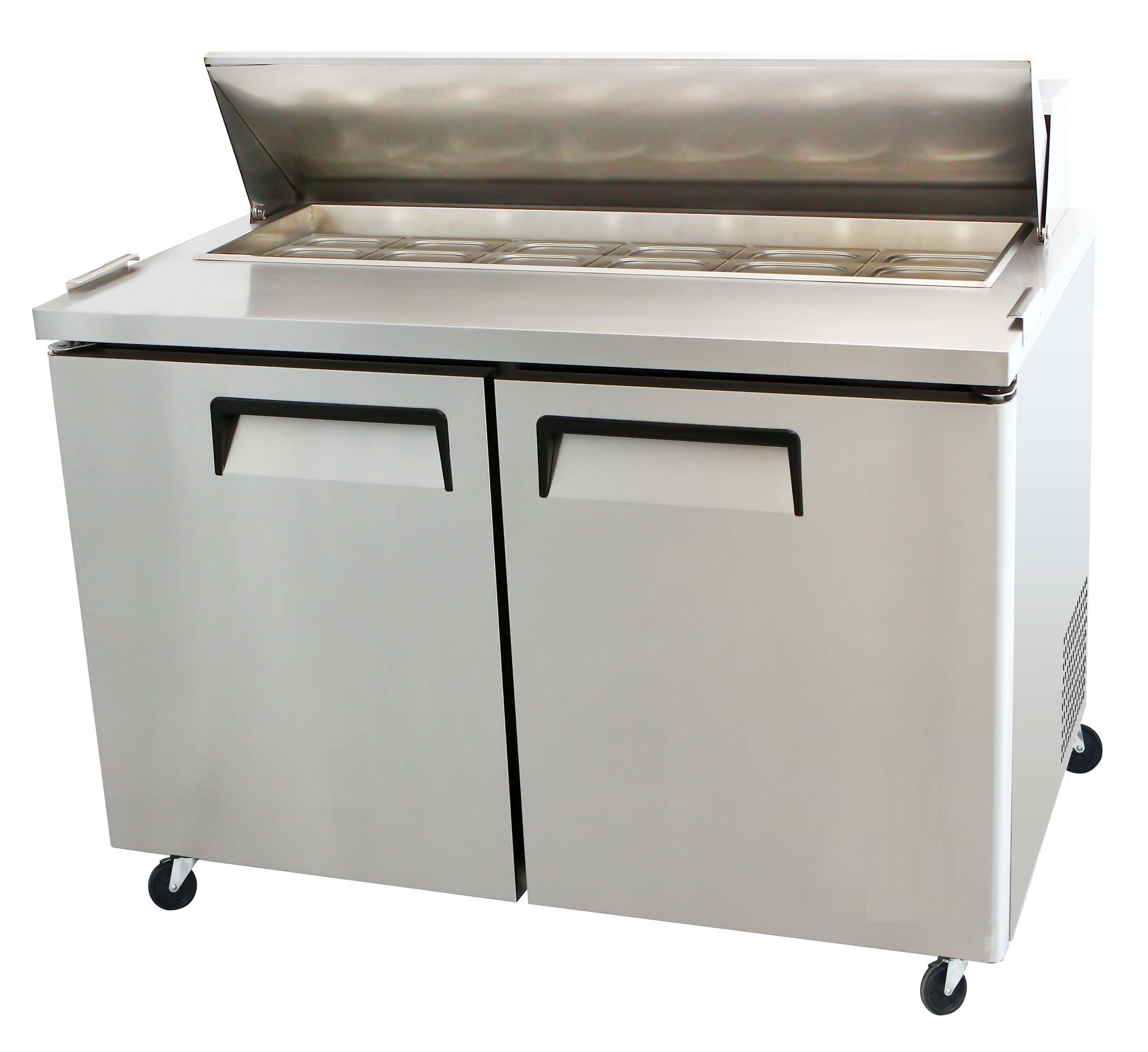 Toronto Refrigeration And Freezer Retailer Of Hussmann True - Sandwich prep table cooler