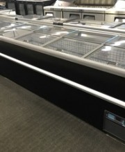CLF-8: 8' SLIDING TOP FREEZER, BLACK EXTERIOR