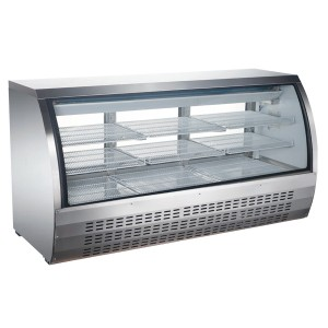 COLDCO 82″ STAINLESS STEEL DELI DISPLAY SHOWCASE