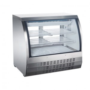 48″ CURVED GLASS DISPLAY REFRIGERATED SHOWCASE, MODEL DC-48