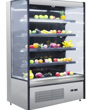 "COLDCO 48"" STAINLESS EXTERIOR MULTI-DECK  REFRIGERATED SHOWCASE"