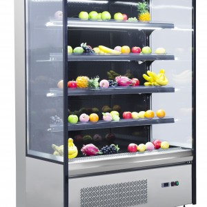 COLDCO 48″ STAINLESS EXTERIOR MULTI-DECK  REFRIGERATED SHOWCASE