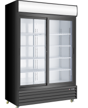 "52.5"" SLIDING GLASS DOOR REFRIGERATOR , SD1200SL"