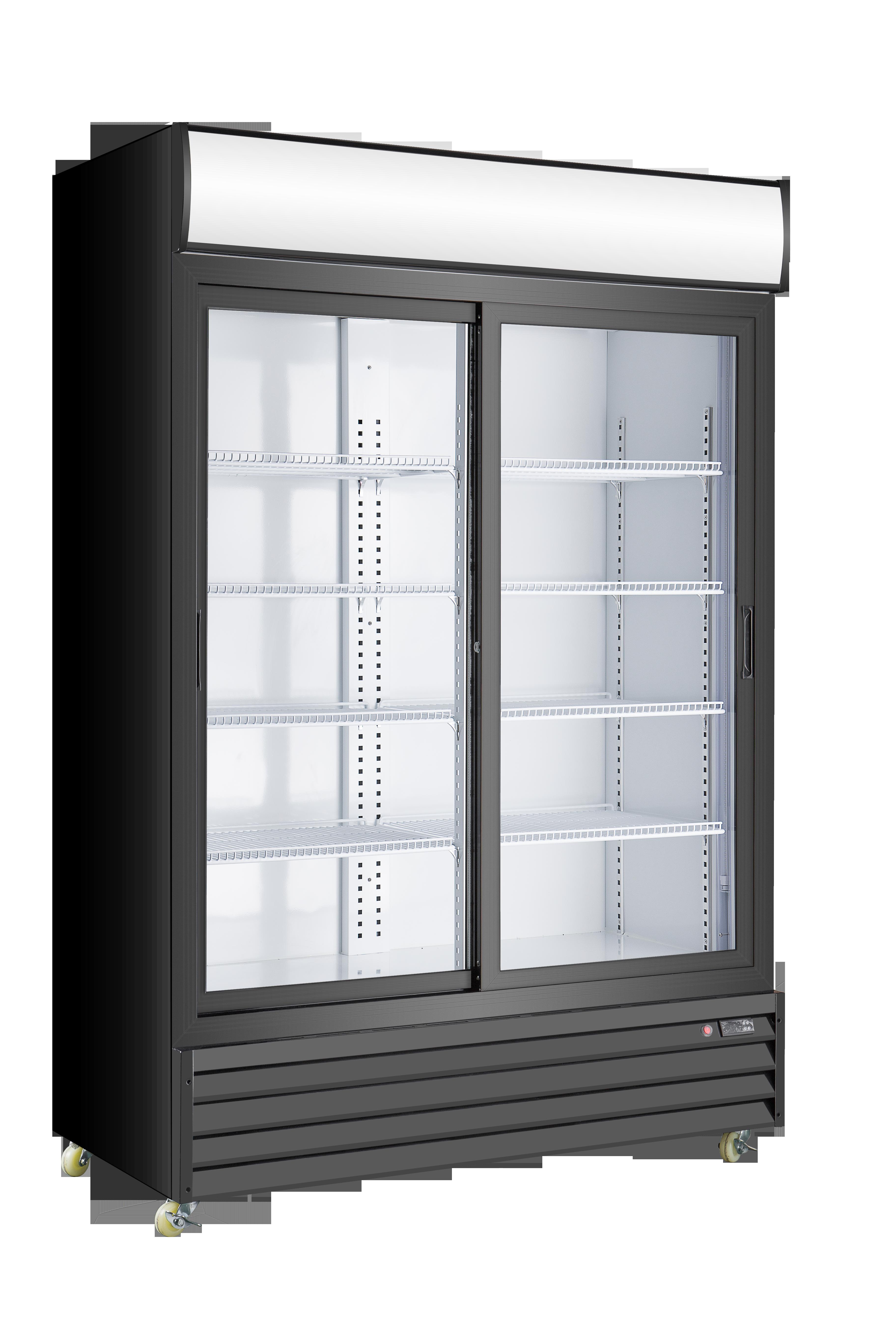 Toronto refrigeration and freezer retailer of hussmann - Glass door refrigerator freezer ...