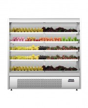 OM SERIES STAINLESS STEEL MULTII-DECK SHOWCASE REFRIGERATOR
