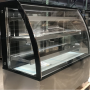 4 -DISPLAY LEVEL CURVED GLASS REFRIGERATED BAKERY SHOWCASE