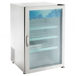 STAINLESS STEEL COUNTER TOP/  UNDER COUNTER REFRIGERATOR, BGD-7R-S-HC
